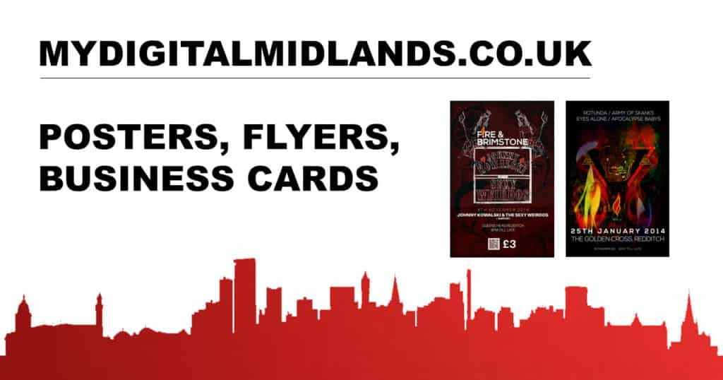 Posters, Flyers And Business Cards
